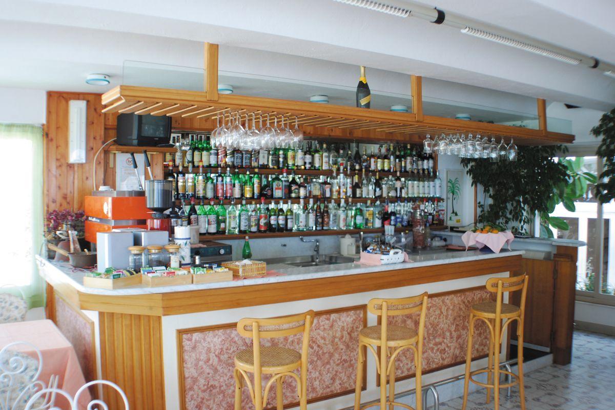 Il ristorante dell'Hotel La Palma a Sant'Angelo d'Ischia
